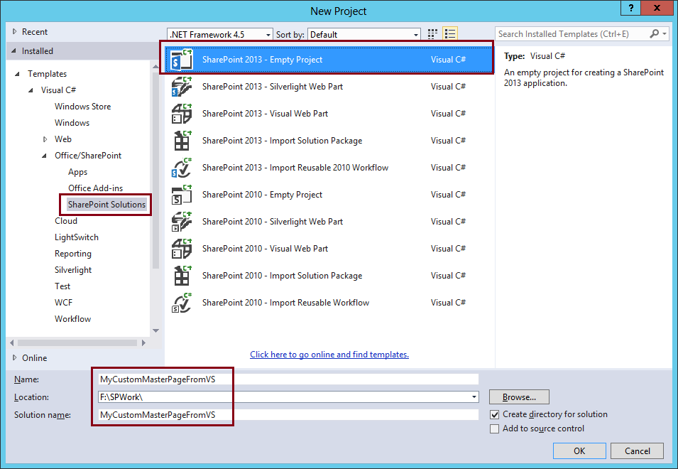 How To Use Visual Studio To Create Costum Master Page 1