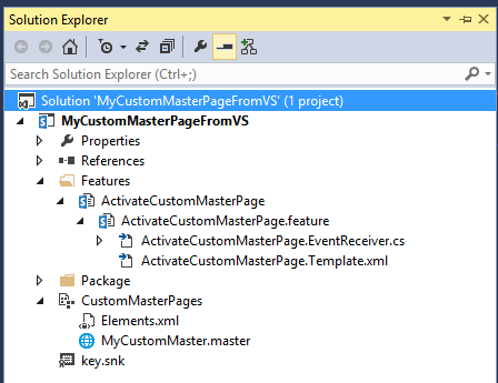 How To Use Visual Studio To Create Costum Master Page 10